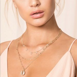Leilani Lariat Shell Necklace